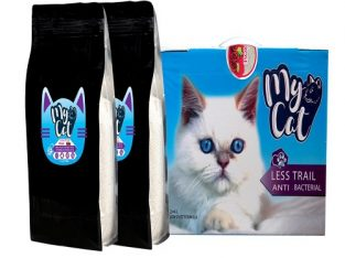 cat litter خاک بستر گربه