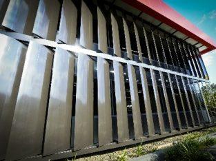 تولید و فروش انواع نماهای آلومینیومی لوور و کرتن وال